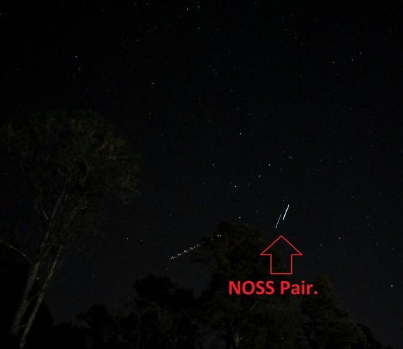 NOSS Pair of Satellites