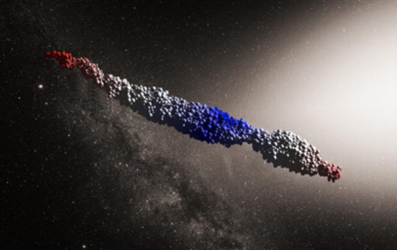 Oumuamua Simulation