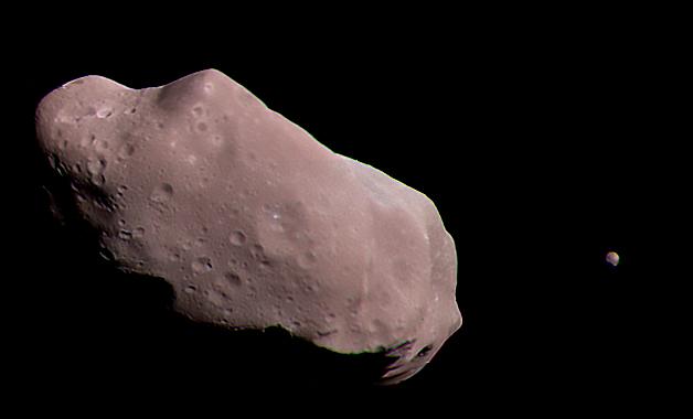 243 Ida Asteroid August 1993