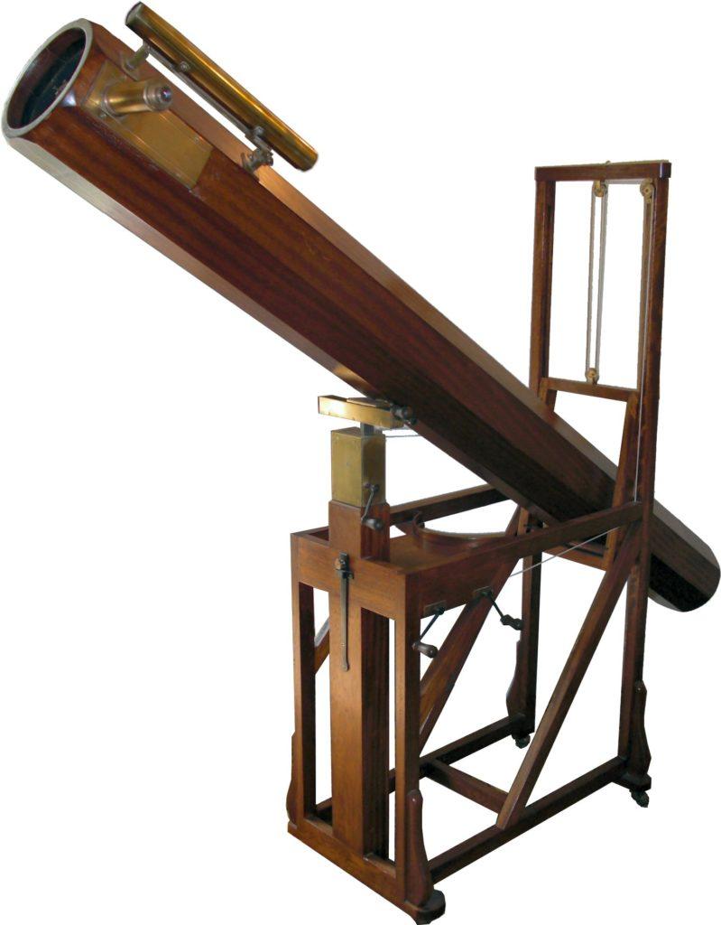 A replica of Herschel Telescope