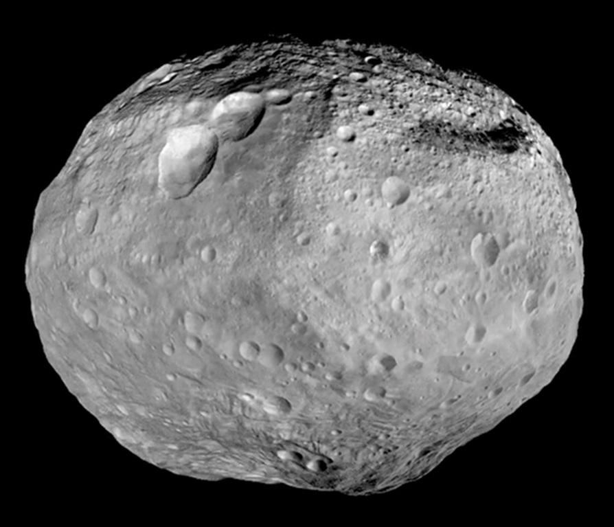 Vesta Asteroid Full Composite